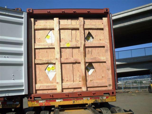 铁木包装箱 集装箱加固